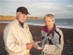 With Arno Berger in New Zealand 2007